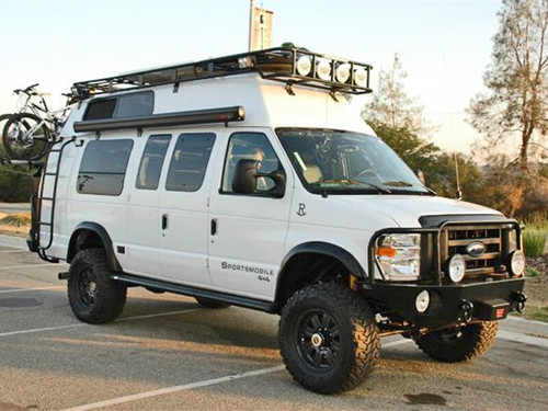 *Roof Rack - Ford E-Series - Sportsmobile West Voyager