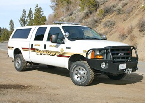 Black Front Bumper - Ford F-250/F-350 '05 to '07