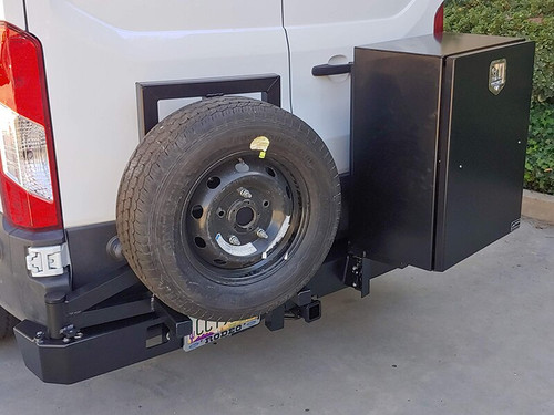 *Slimline Rear Bumper (with Hitch and Swing Arm Assembly) - Ford Transit '15 & Up