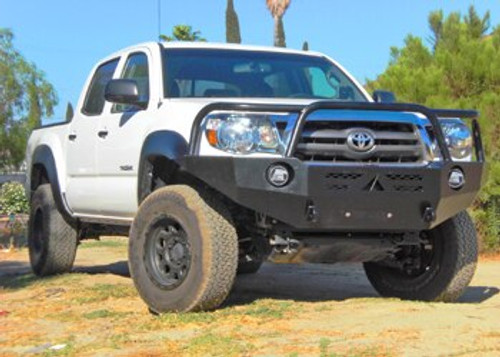 Aluminess Front Winch Bumper - Toyota Tacoma '05 to '11 off road