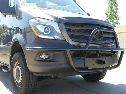 Front Receiver Hitch - Mercedes Sprinter '07 to '18 front view