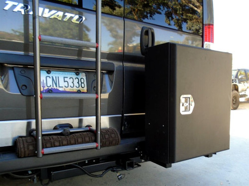 *Tire Rack (With Class 4 Hitch, Requires Factory Tow Package) - Dodge Promaster '18 & Up