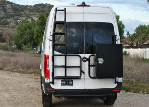 *Rear Door Ladder (Driver's Side) - Mercedes Sprinter '19 & Up (High Roof)