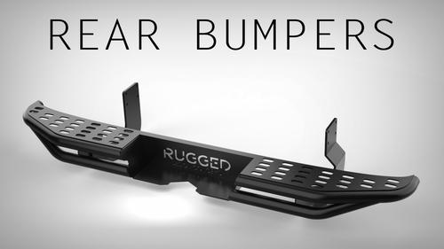 *Aluminum Rear Bumper - Mercedes Sprinter (2500) '14 & Up