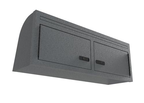 "42"" Overhead Aluminum Cabinet (Factory AC Compatible) - Mercedes Sprinter front view"