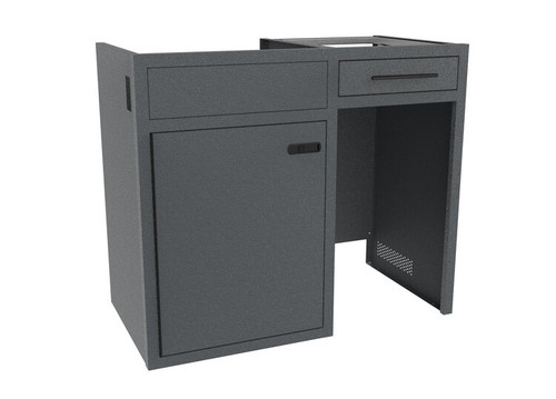 "42"" Base Galley Cabinet w/ Upper Drawer front view"