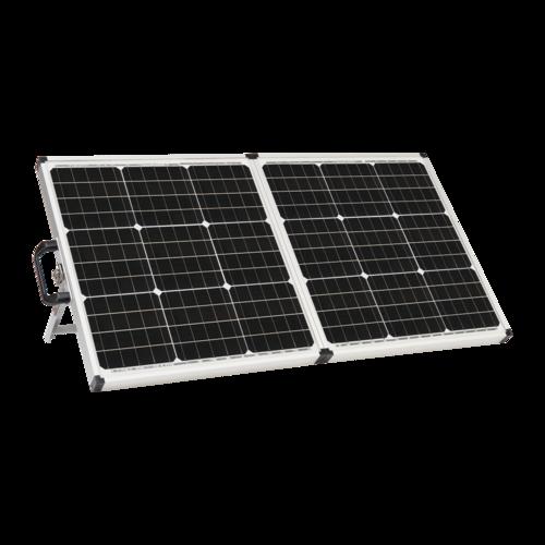 Zamp Solar 90 Watt Portable Solar Kit Quarter View