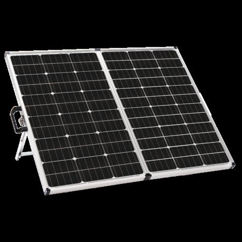 Zamp Solar 140 Watt Portable Solar Kit Quarter View