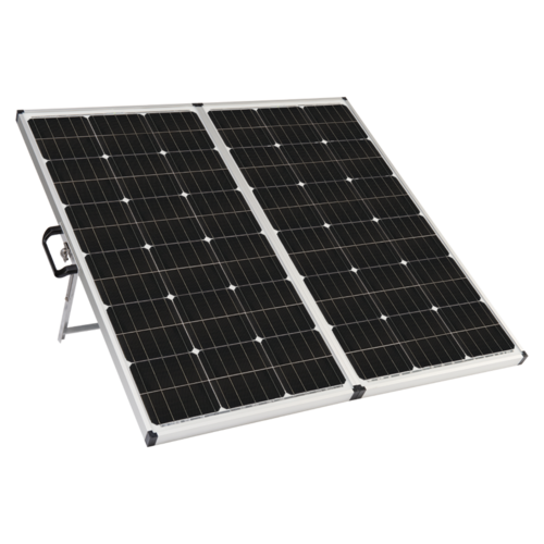 Zamp Solar 180 Watt Portable Solar Kit Quarter View