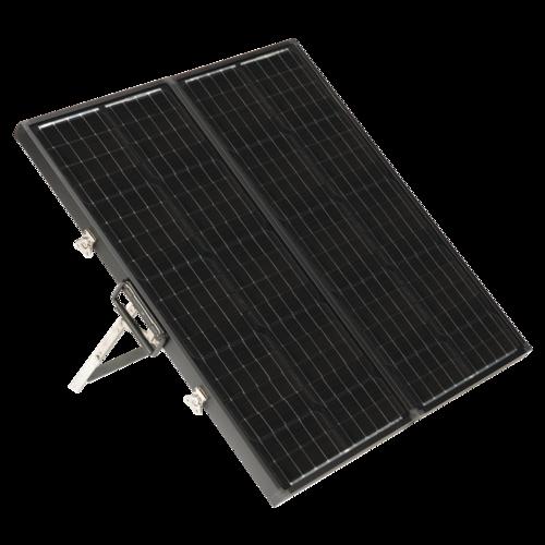 Zamp Solar *Slim* 90 Watt Portable Solar Kit Quarter View