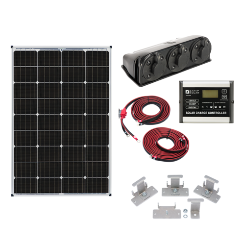 Zamp Solar 115-Watt Roof Mount Solar Kit Complete