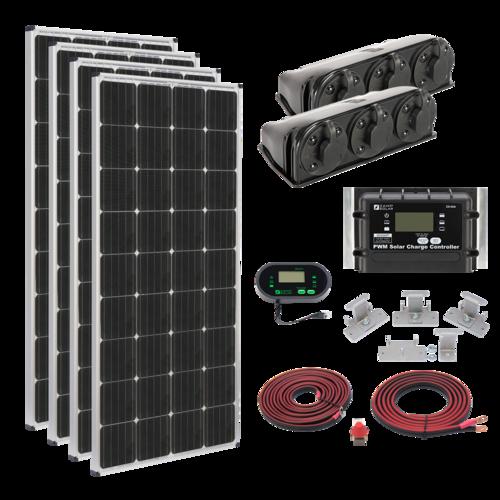 Zamp 680-Watt Roof Mount Solar Kit Complete