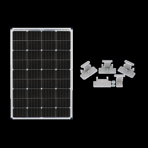 Zamp Solar 115-Watt Expansion Solar Panel Complete Contents