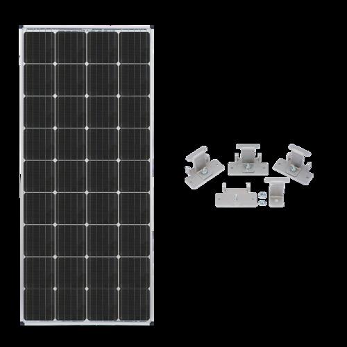 Zamp Solar 170-Watt Expansion Solar Panel  Complete Contents