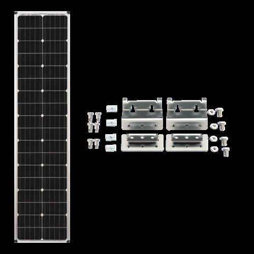 Zamp Solar 90-Watt Slender Expansion Solar Panel Complete Kit