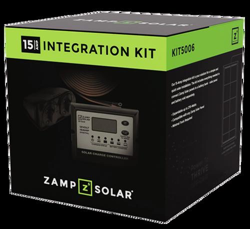 "Zamp Solar 15 Amp ""Obsidian"" Solar Integration Kit Total Box"