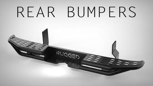 *Steel Rear Bumper - Mercedes Sprinter (2500) '14 & Up