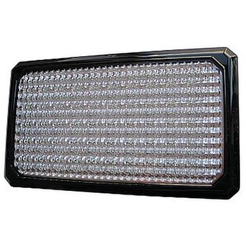 Flat Beam 1000 LED Flush Mount Work Lamp, 1100 Lumens Corner View