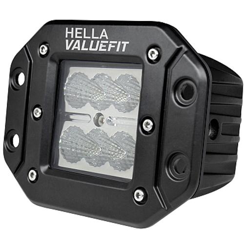 ValueFit 6 LED Spot Light, Flush Mount Corner View