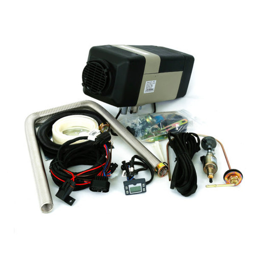 Bison 5000A Bunk Air Heater Kit contents