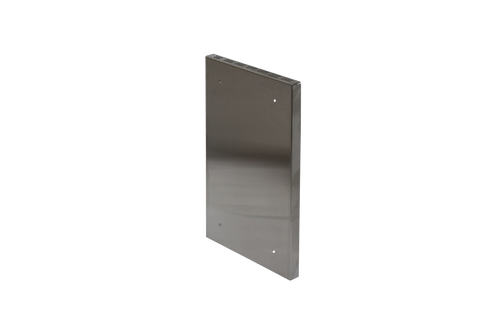 CB-2016-SS Side Shield for Cub Mini Wood Stove corner view