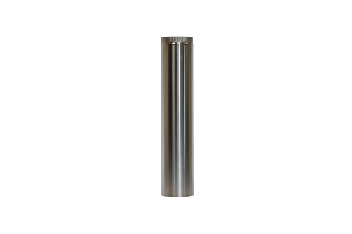"""5"""" Stainless Insulated  Pipe for Cubic Mini Stoves"""
