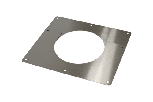 """CB-5029-SS 5"""" Stainless Steel Ceiling Trim Plate"""