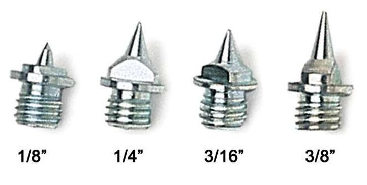 Steel Spikes - Needle Spikes On Track & Field Inc