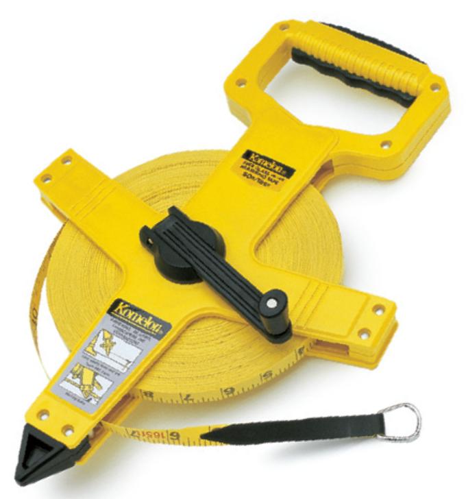 Measuring Tape - Komelon Fiberglass Open Reel On Track & Field Inc