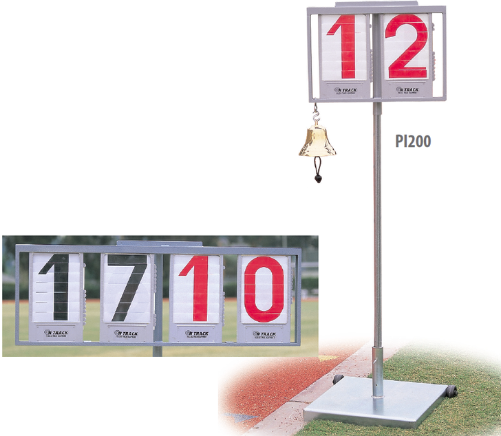 Performance Indicators & Lap Counters On Track & Field Inc