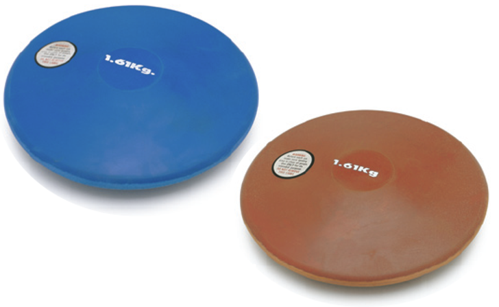 Rubber Discus Indoor & Outdoor - On Track & Field Inc