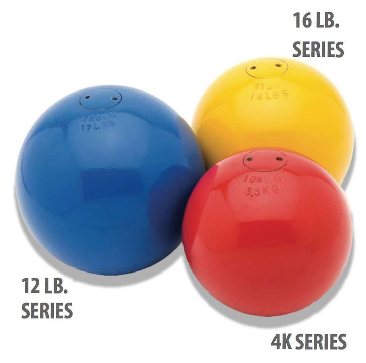 16 lb. International Series Training Shots (128 mm diameter) - GILLETT I Training Shots On Track & Field Inc