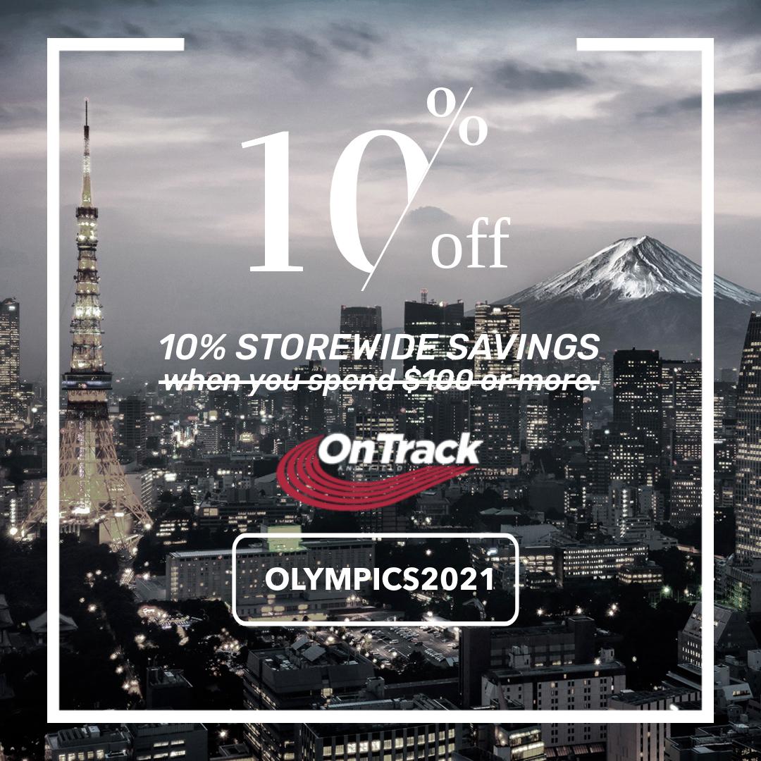 Tokyo Olympics Discount Banner