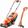 Flymo Visimo Mower and Mini Trim Strimmer combo