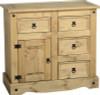 corona sideboard 4 drawer