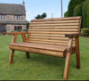 Dales Two Seater Bench  -  LOCAL DELIVERY ONLY