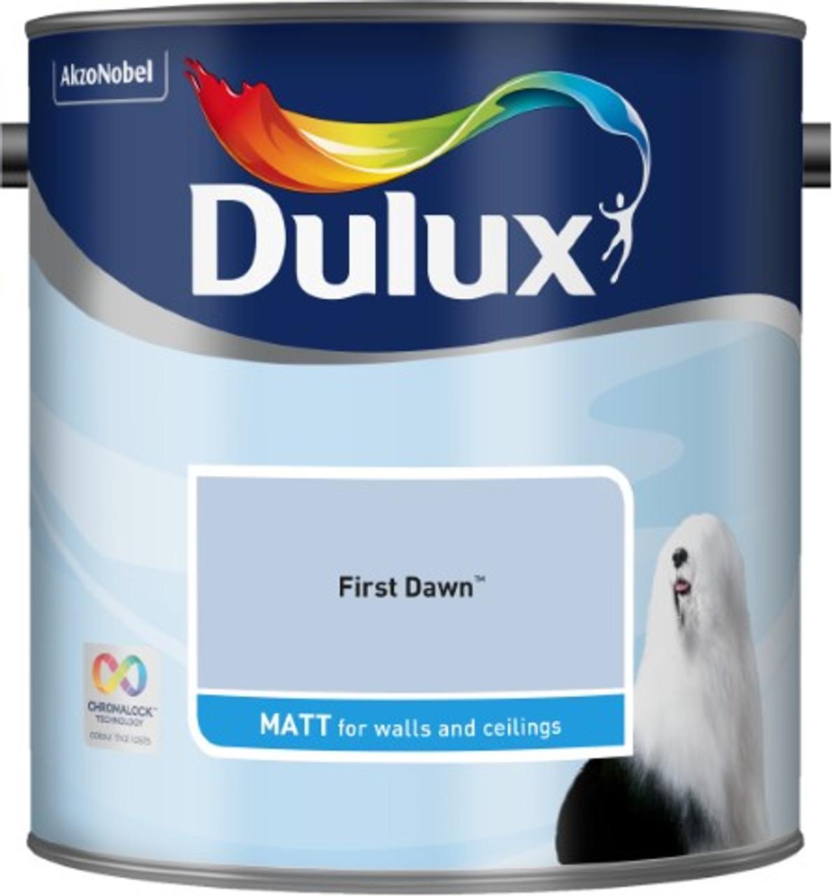 2.5L Dulux Matt Emulsion First Dawn