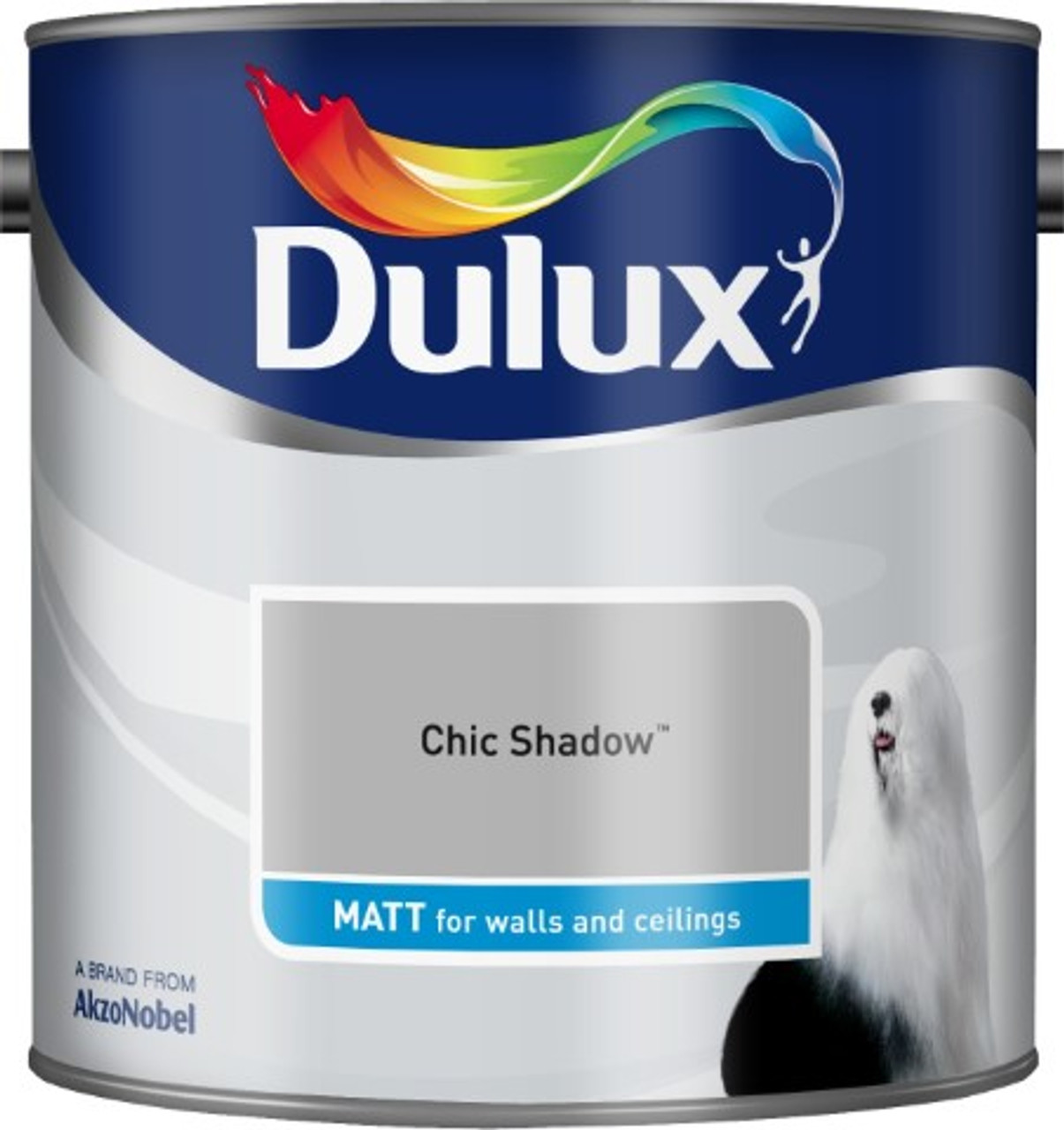 2.5L Dulux Matt Emulsion Chic Shadow