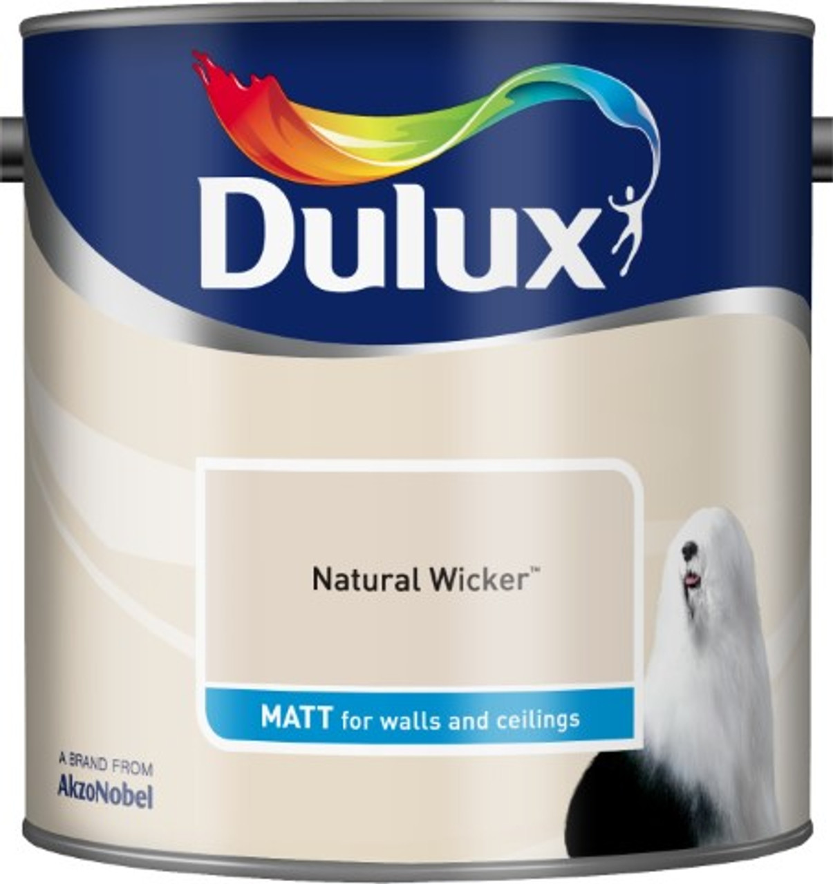 2.5L Dulux Matt Emulsion Natural Wicker