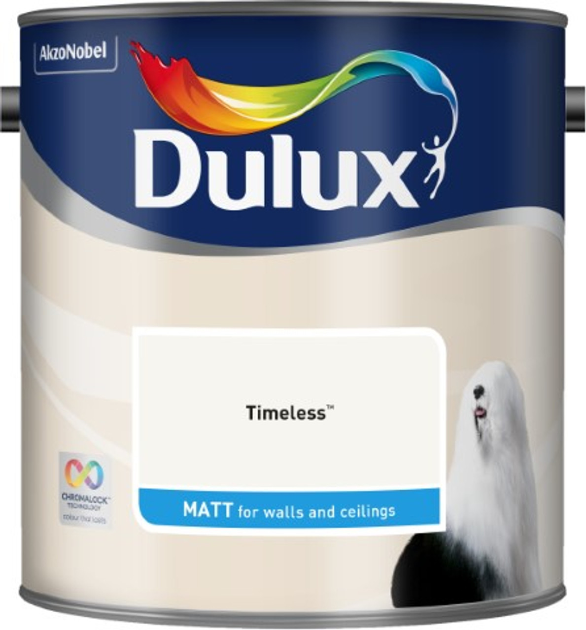 2.5L Dulux Matt Emulsion Timeless