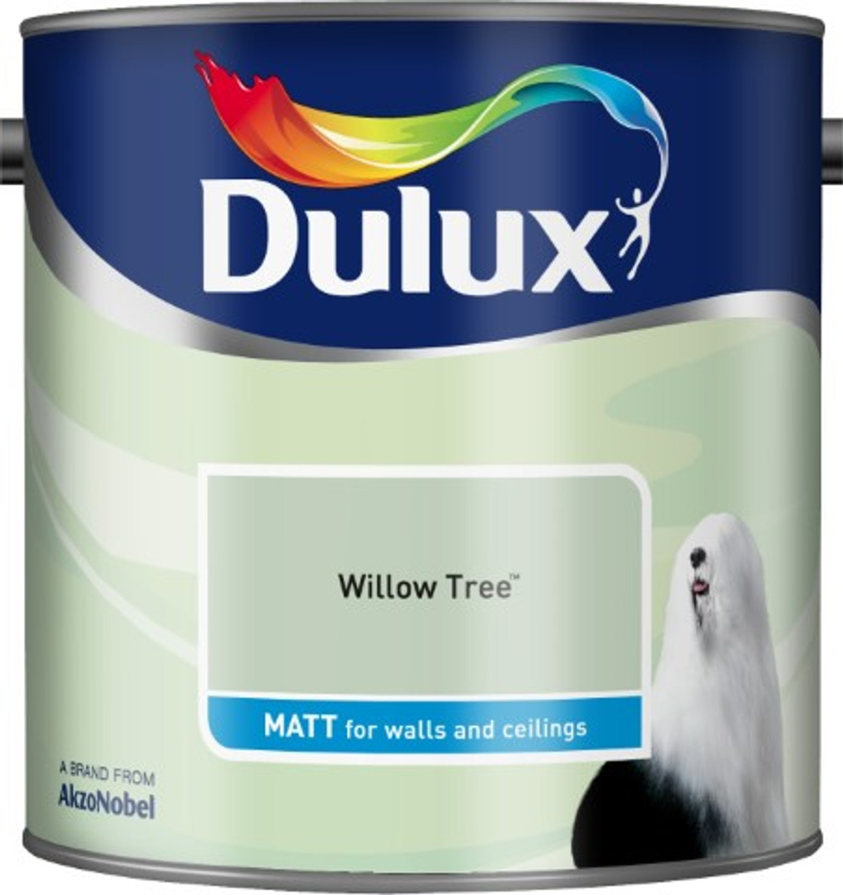 2.5L Dulux Matt Emulsion Willow Tree
