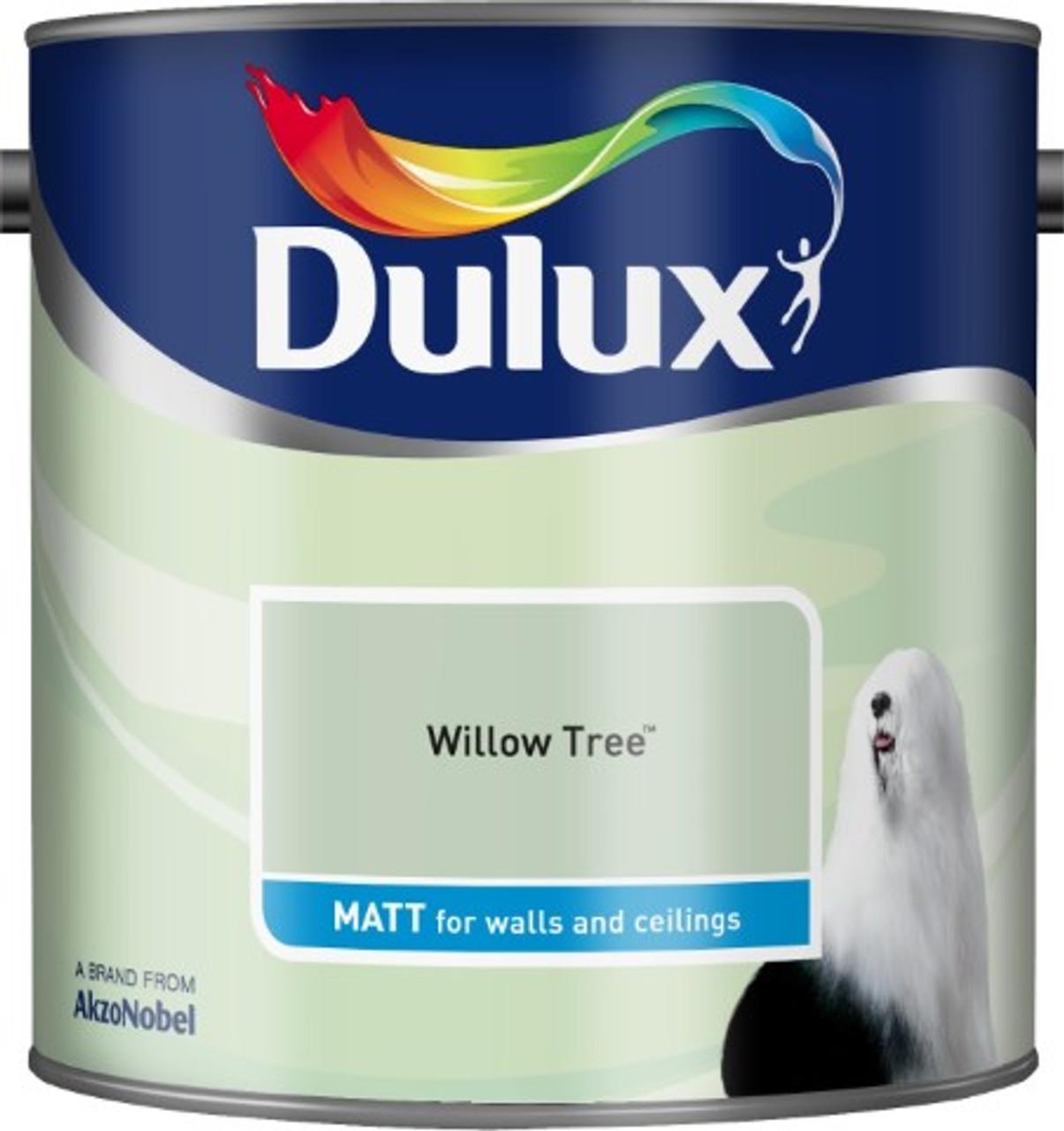 2.5L Dulux Matt Emulsion Willow Tree
