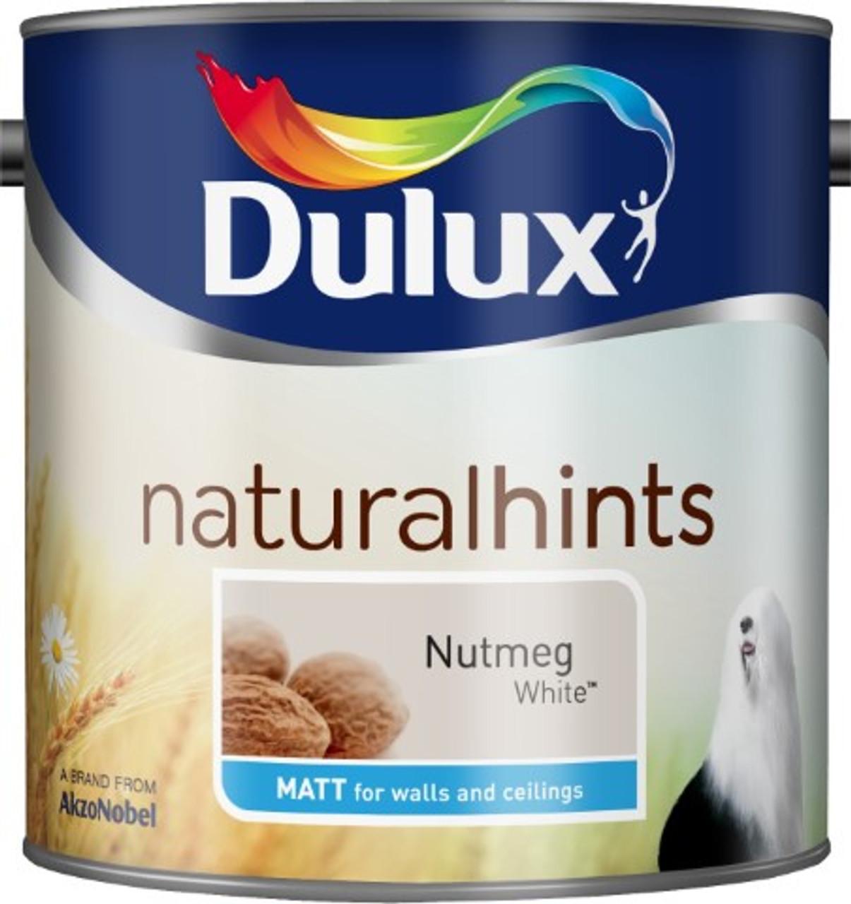 2.5L Dulux Matt Emulsion Nutmeg White