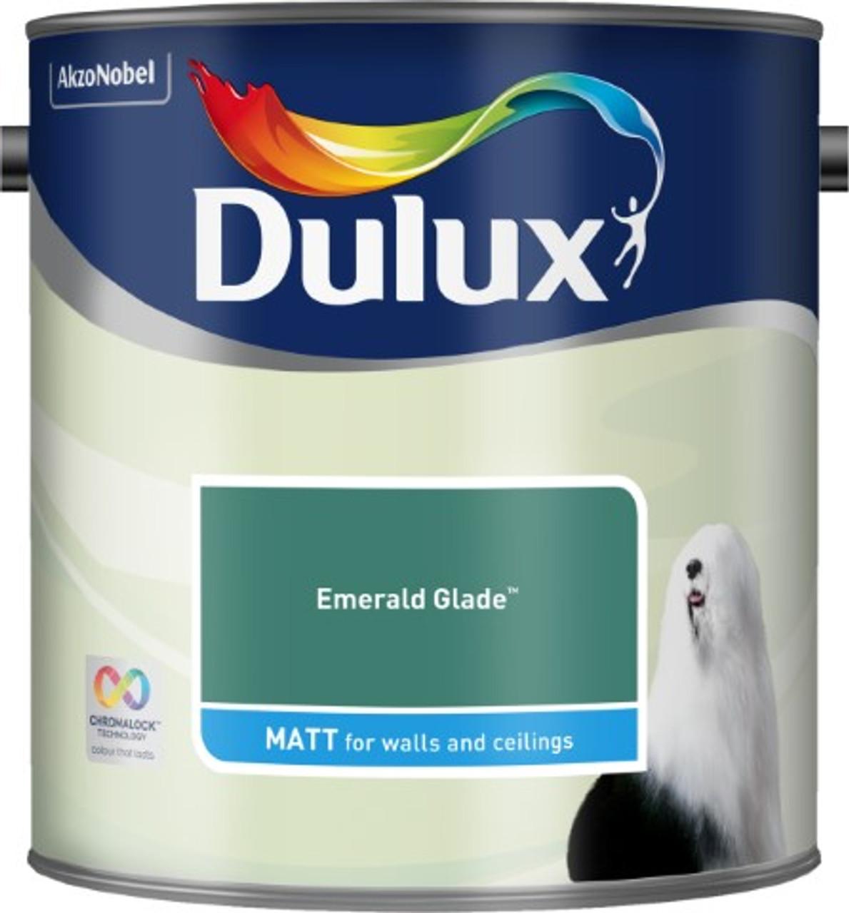 2.5L Dulux Matt Emulsion Emerald Glade