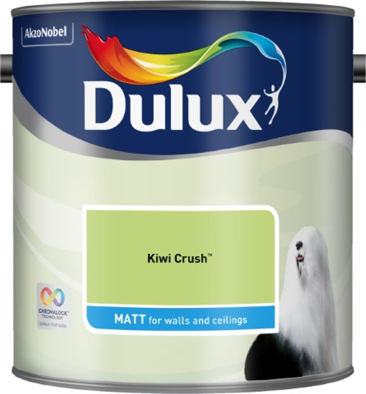 2.5L Dulux Matt Emulsion Kiwi Crush