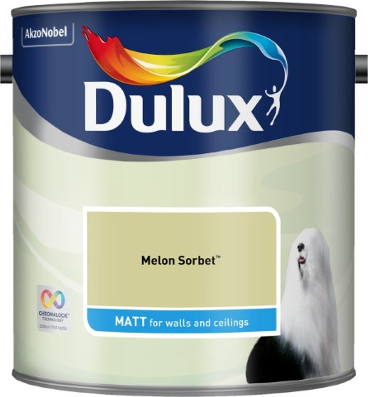 2.5L Dulux Matt Emulsion Melon Sorbet