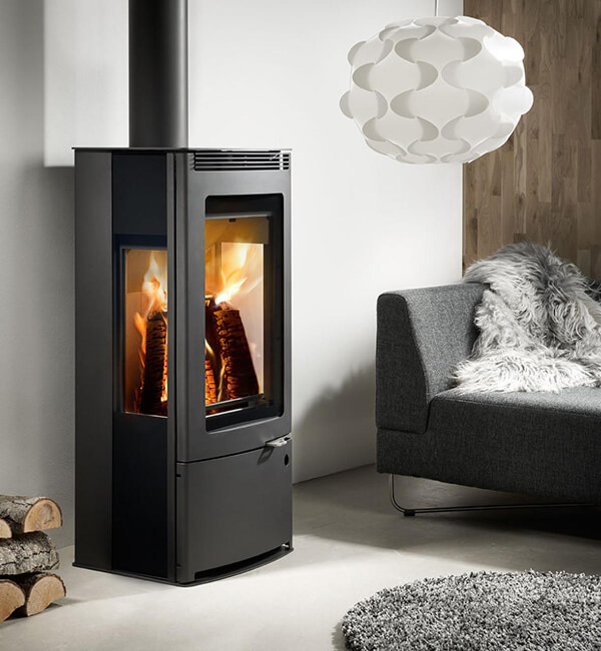 Westfire Uniq.33 Side Glass Stove - FREE DELIVERY