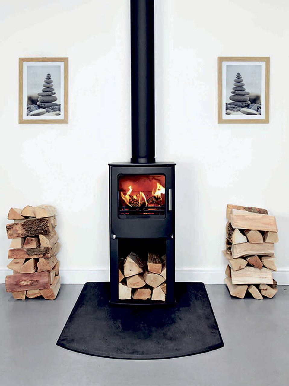 Westfire One with Pedestal Stove