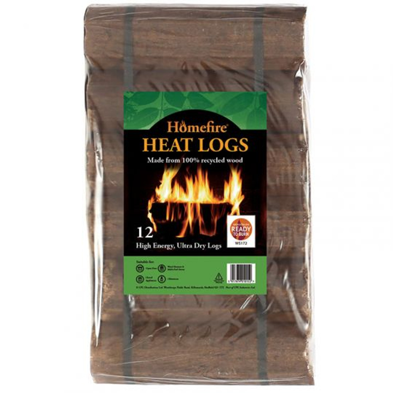 Homefire Shimada Heat Logs (12pk)