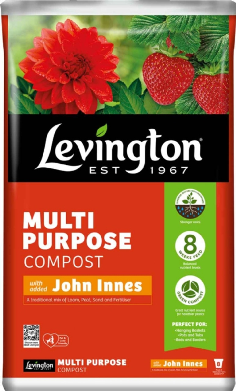 Levington 40Ltr Multipurpose + JI Compost - LOCAL DELIVERY ONLY